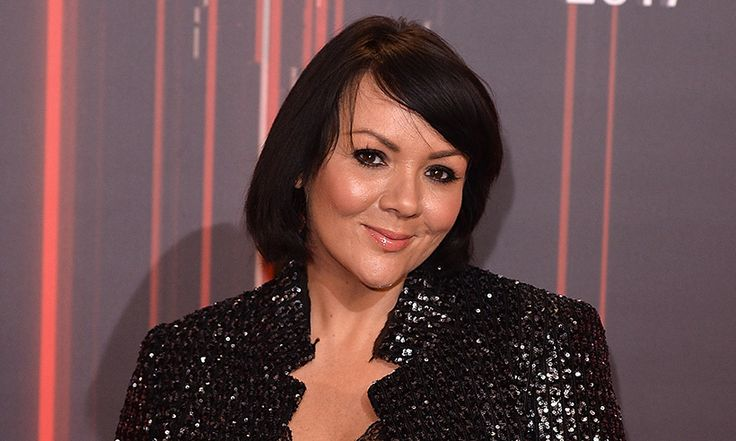 Martine McCutcheon has shown off her new grey hair on Instagram, revealing that her son Rafferty, who she shares with husband Jack McManus, loved helping her
