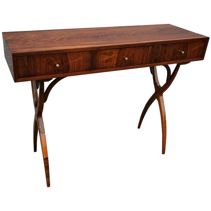 Scapinelli console table with three drawers antiques - Contemporary console tables with drawers ...