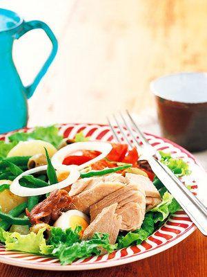 【ELLE a table】自家製ツナのニース風サラダレシピ|エル・オンライン