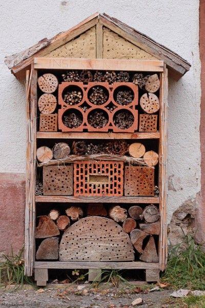 ber ideen zu wildbienen auf pinterest nisthilfen. Black Bedroom Furniture Sets. Home Design Ideas