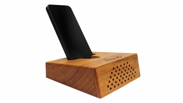 The Houd Passive Speaker Wood Amplifier Enables You To