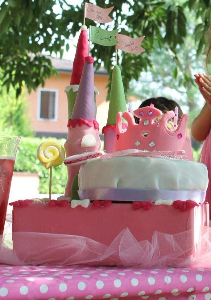Castello, coroncina e scettro per il compleanno della mia piccola principessa...