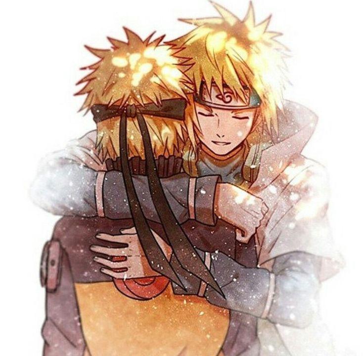 Minato et Naruto                                                                                                                                                                                 Mais