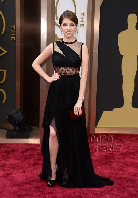 LOVE this dress!!!!! anna kendrick oscars dress | Anna Kendrick Proves Her Sex Appeal With Lace & Leg At The 2014 Oscars ...