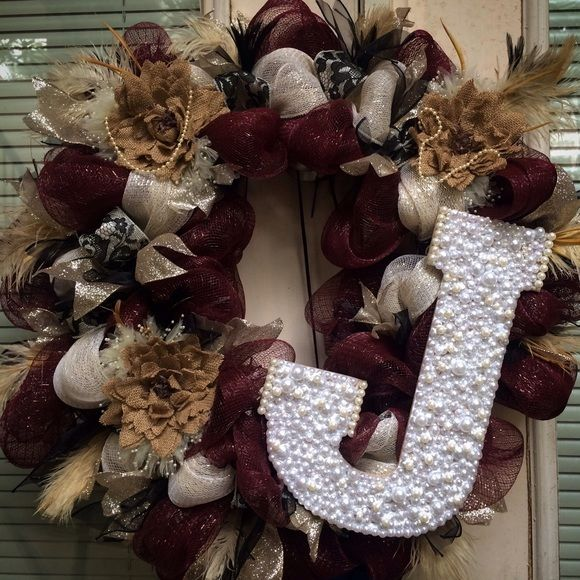 1000+ Ideas About Vintage Wreath On Pinterest