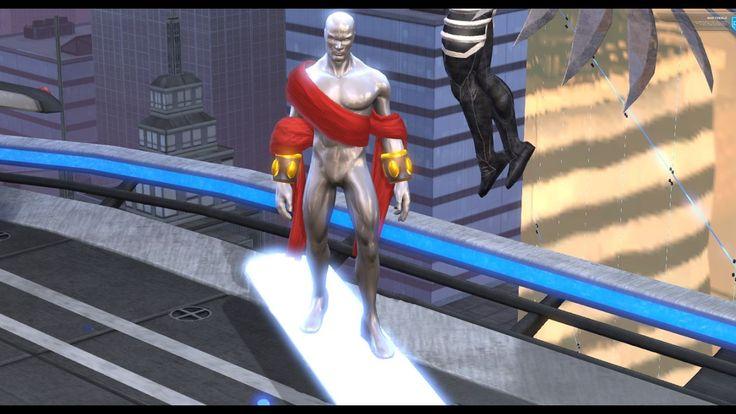 Marvel Heroes Silver Surfer Keeper Costume Gameplay