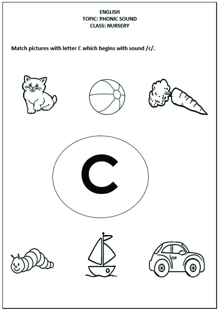 Printable Worksheets worksheets of english for nursery class : 7 best Worksheets images on Pinterest | Worksheets, Babies nursery ...