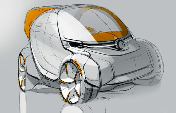 City Car on Behance