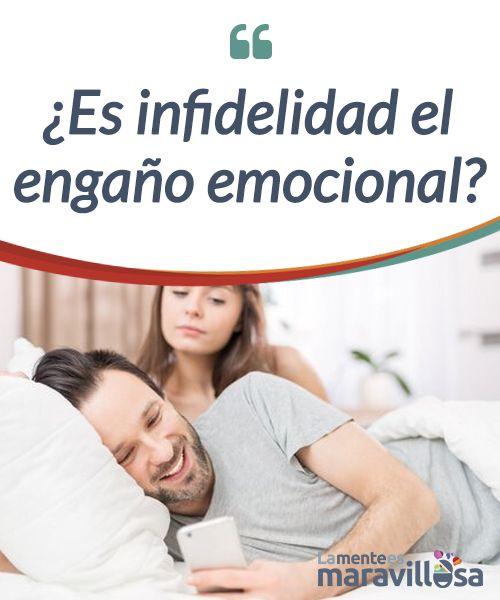 ¿Es infidelidad el engaño emocional?  No implica un contacto físico, pero la #infidelidad emocional puede #desestabilizar #irremediablemente una pareja ¿Qué es y cómo detectarla?  #Curiosidades