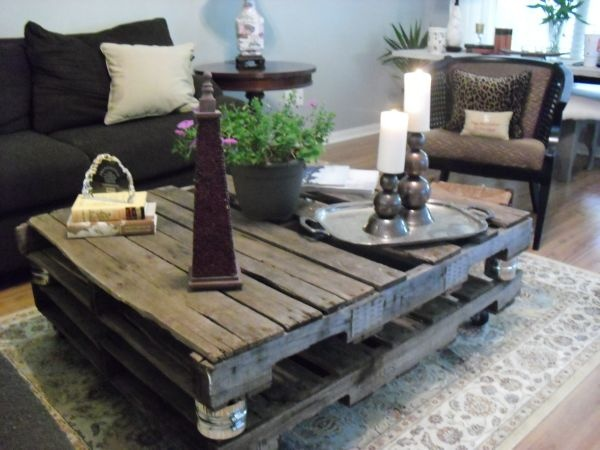 Image Result For Rustic Coffee Table