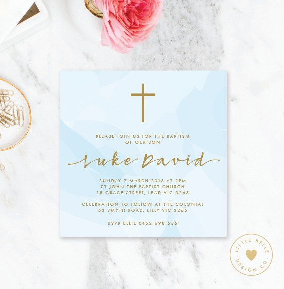 37 Best Baptism Invitations Images On Pinterest Baptism