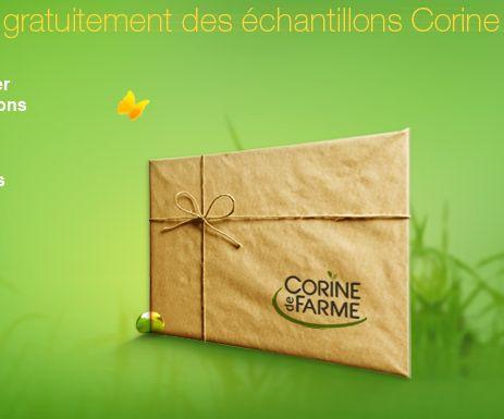 Echantillons gratuits de produits Corine de Farme #gratuit #échantillons #france