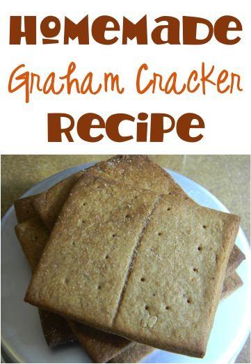 Homemade Graham Crackers Recipe!