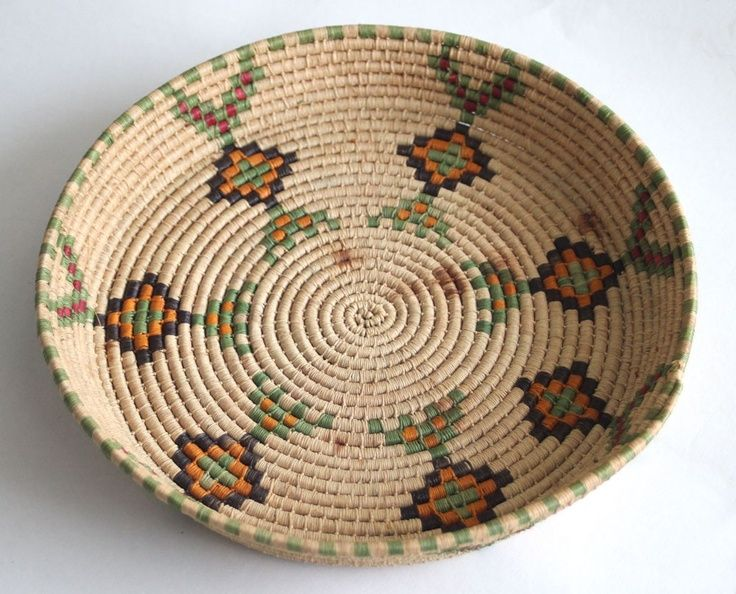 Native American Basket Weaving Instructions : Native american basket weaving vintage