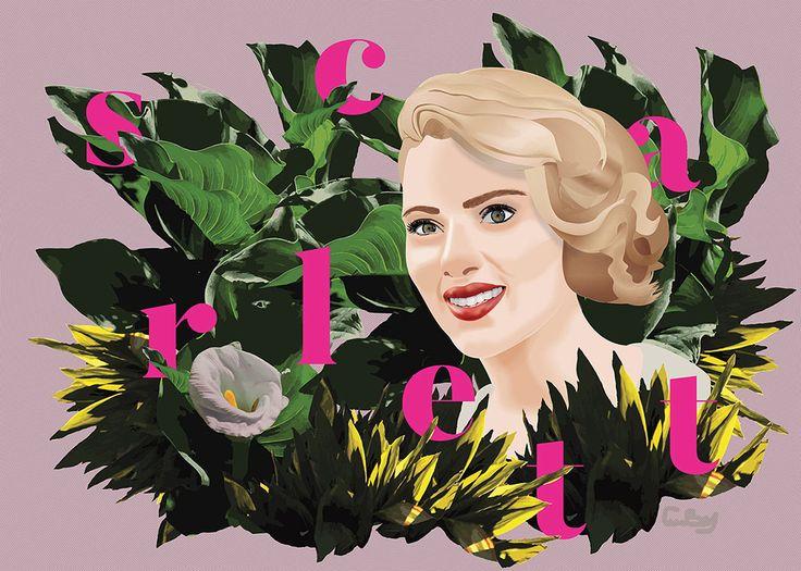 Scarlett on Behance