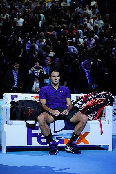 Novak Djokovic v Roger Federer, ATP World Tour final – in pictures