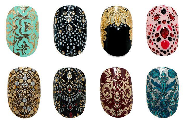 When High Fashion Meets Nail Art | Revlon by Marchesa Nail Art 3D Jewel Appliqués | The Office Chic