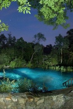 This natural spring looks like something out of a dream. But it's real & you can visit it right here in the USA... (Ichetucknee Springs State Park, Fort White, Florida)