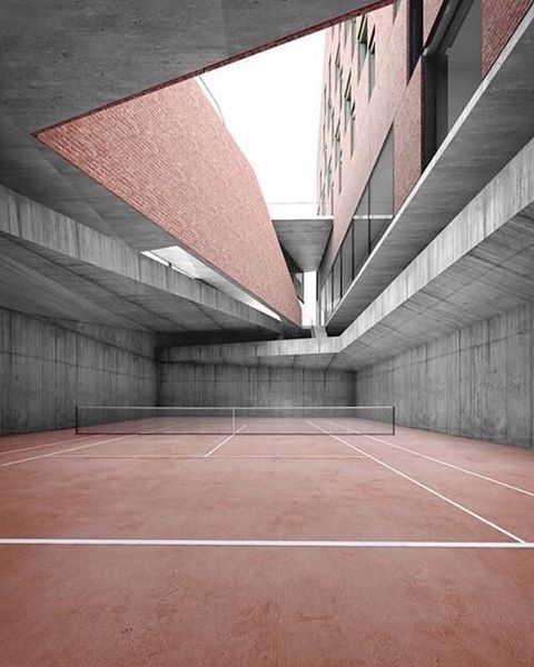 107 Best Most Beautiful Tennis Courts Images On Pinterest
