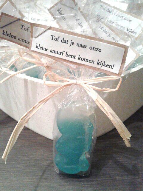 Originele bedankjes voor de gasten! #babyshower #babyborrel #kraamfeest #organize #decorate #presents #gifts #guests #feest #party #blog #Beaublue