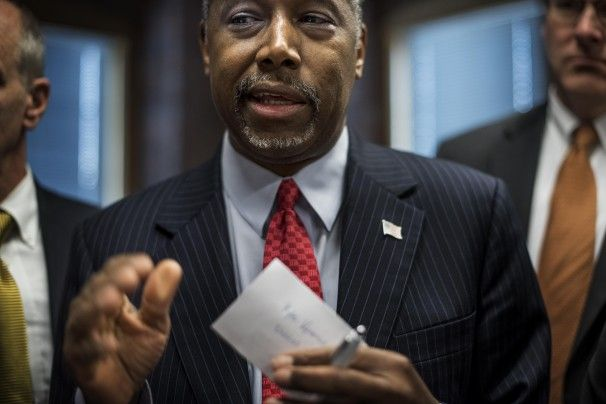 Ben carson believes joseph from the bible built the pyramids to store grain.