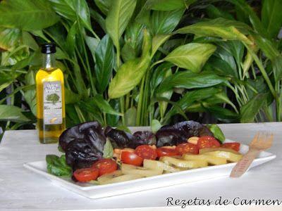 rezetas de carmen: Ensalada de kiwis amarillos y brotes de lechuga morada. #Ponunaensalada