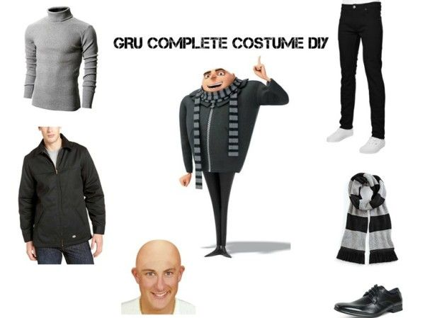 Gru Costume DIY