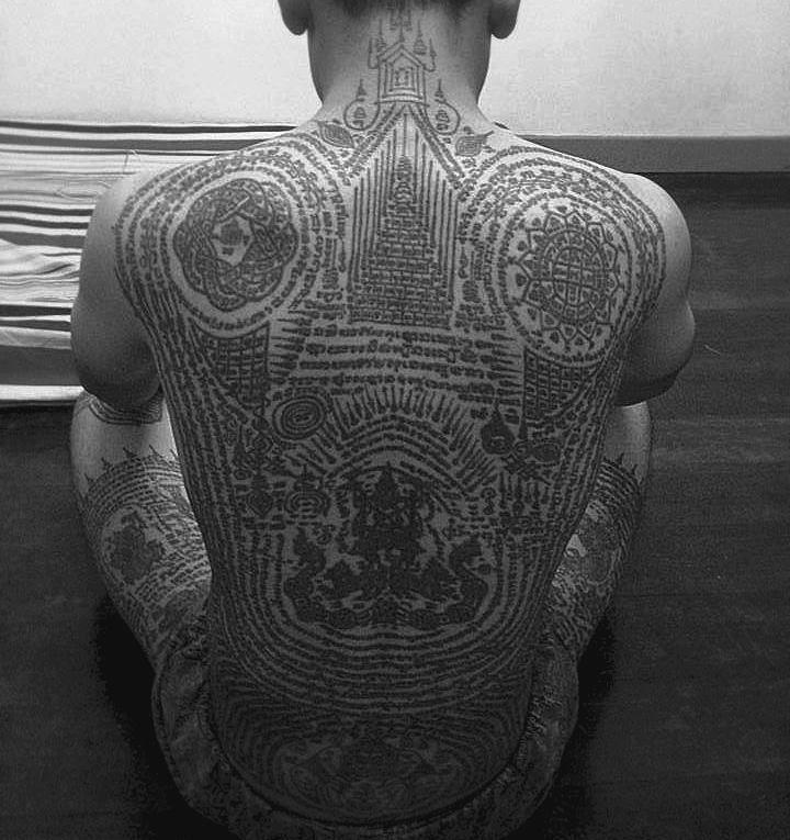 25 best ideas about sak yant tattoo on pinterest thai tattoo yantra tattoo and thailand tattoo. Black Bedroom Furniture Sets. Home Design Ideas