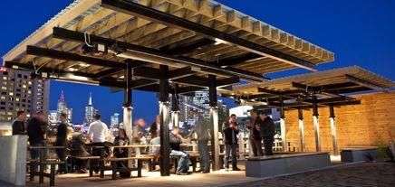 Rooftop bars & beer gardens