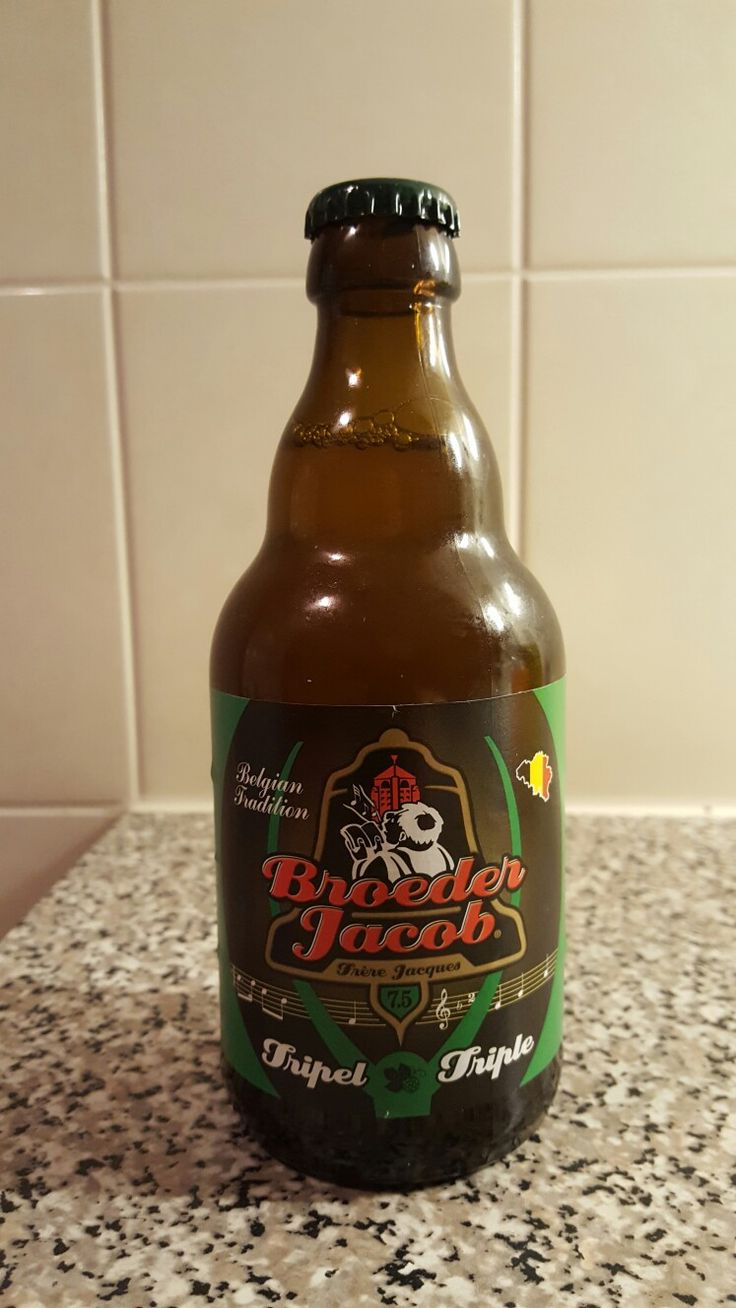 Broeder Jacob Tripple  Beer from Belgium Alc. 7.5 %