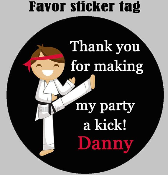 44 best images about Karate Party Ideas – Karate Party Invitations