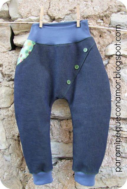 Pantalón cruzado de Paramipequeconamor