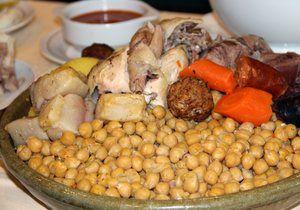 Codido del restaurante Cruz Blanca, Vallecas.