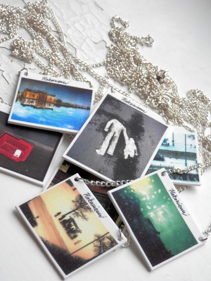Hakaniemi -necklaces. Visit:  www.retroke.blogspot.com