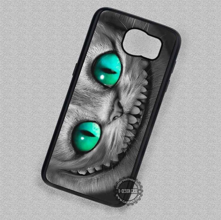 Bright Eyes Alice In Wonderland Cheshire Cat - Samsung Galaxy S7 S6 S5 Note 7 Cases & Covers