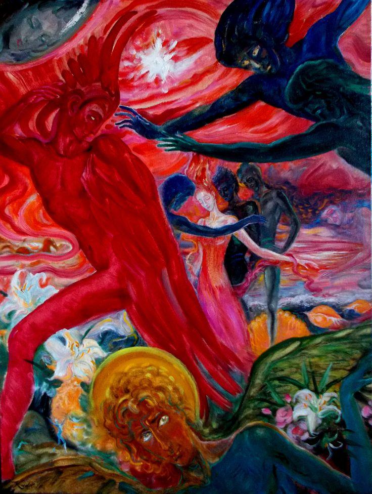 продажа Картин :: Живопись :: Богиня утренней звезды - купите у Художника