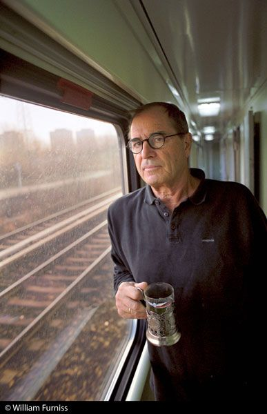 An interview with Paul Theroux, American travel writer.
