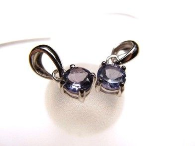 AAAAAclass Tanzanite pendant   from Tanzania ★ round cut type ★ vertical about 5mm ★ SILVER925 ★ special price ¥ 8900⇒5 Anniversary price ¥ 6200