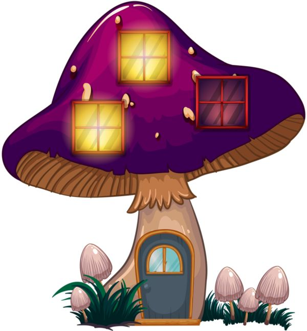 706 best images about clip art everything for a garden for Fairy on a mushroom drawing