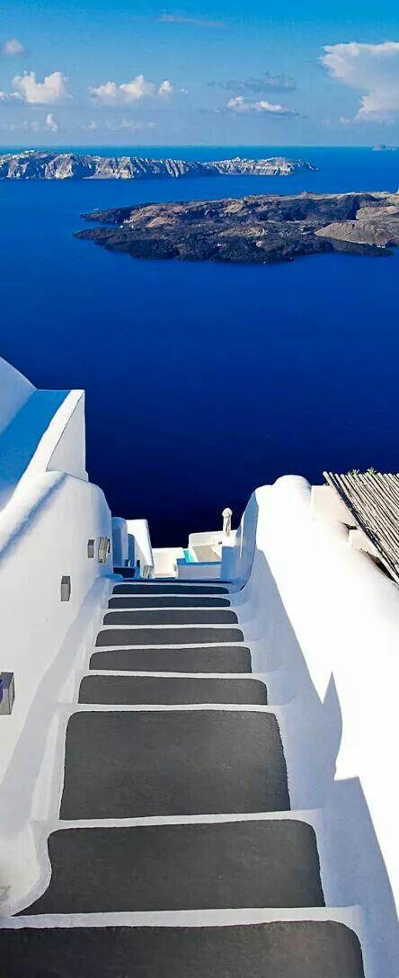 Santorini, Greece (http://www.exquisitecoasts.com/santorini-travel-guide.html)