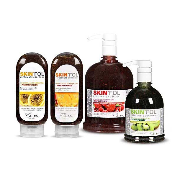 Elimina las células muertas y dañadas que obstruyen los poros, evitando la acumulación de residuos de suciedad con GEL EXFOLIANTE SKINFOL de LMAR