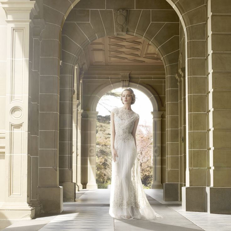 Gwendolynne – Jasmine Wedding Dress – Fashion shoot at Mansion Hotel & Spa at Werribee Park and the Werribee Mansion