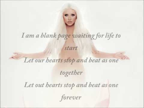 Christina Aguilera__Blank Page.... Goshhhhhh what a voice, this song is simply amazing!!!