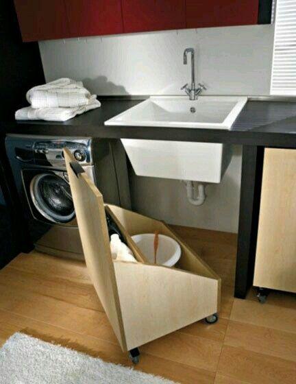 37 besten Waschküche organisieren Bilder auf Pinterest Haushalte - buro mobel praktisch organisieren platz sparen