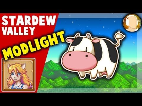 Stardew Valley MODLIGHT Mods Spotlight | Harvest Moon, Fishing, and... Furries??? - YouTube