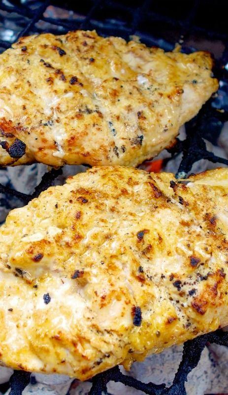 Lemon Garlic Marinade (for grilled chicken breasts)