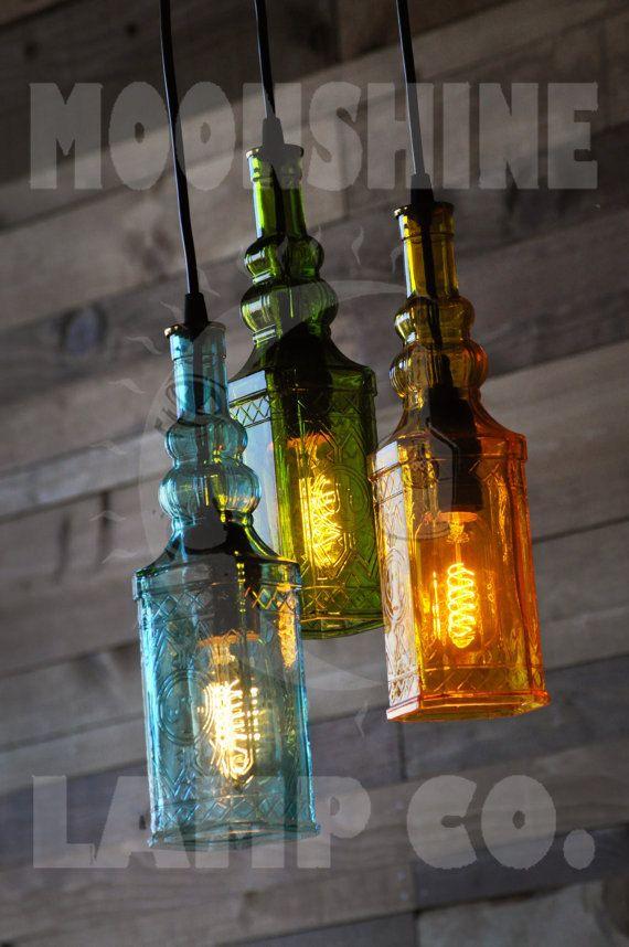 17 best ideas about Bottle Chandelier – Bottle Chandelier