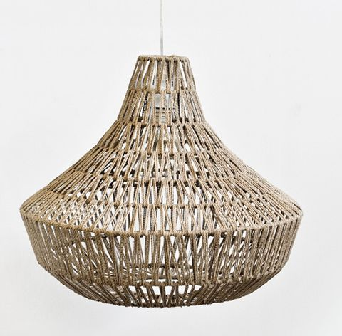 Perfect Woven Rope Pendant Lamp Shade Great Ideas