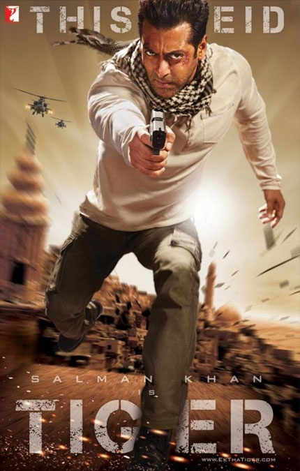 Salman Khan in Ek Tha Tiger.