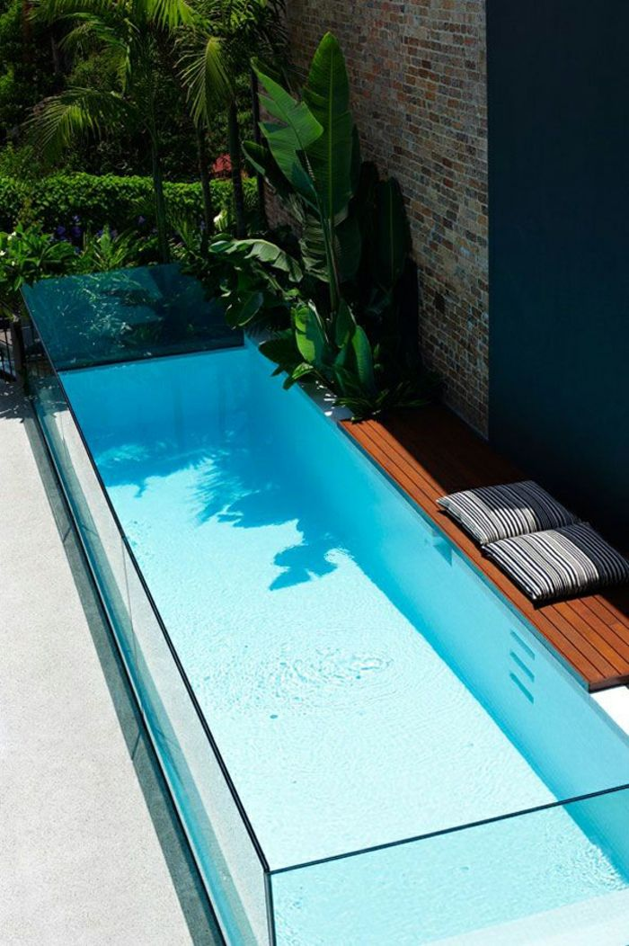187 best Piscine images on Pinterest Conception, Interview and - piscine hors sol beton aspect bois